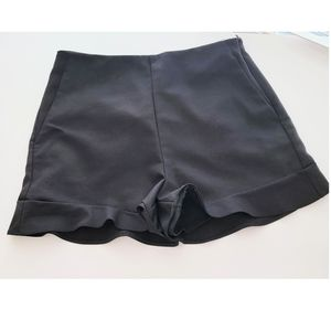 Zara classic black dres shorts